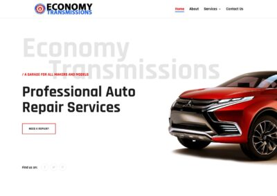 Economy Transmissions Website